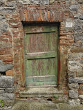 Old Doorway, Lucignano, Tuscany, Italy Photographic Print by Adam Jones