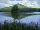 Peaks of Otter, Abbott Lake, Blue Ridge Parkway, Virginia, USA Photographic Print by Charles Gurche