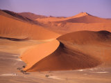 Aerial Scenic, Sossuvlei Dunes, Namibia Photographic Print by Alison Jones