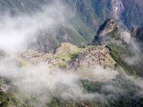 Lost Inca City of Machu Picchu, Intipunku, Peru Photographic Print by Diane Johnson