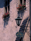Bed and Breakfast, Durnstein, Wachau District, Austria Photographic Print by David Herbig