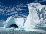 Glacier Arch, Western Antarctic Peninsula, Antarctica Photographic Print by Steve Kazlowski