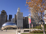 Cloud Gate sculpture in Millennium Park, Chicago, Illinois, USA Photographic Print by Alan Klehr
