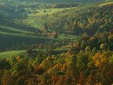 Autumn, Blue Ridge Parkway, Virginia, USA Photographic Print by Charles Gurche