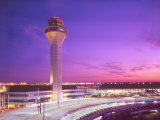 Control tower at O'Hare Airport, Chicago, Illinois, USA Photographic Print by Alan Klehr