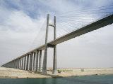 Bridge of Peace, Suez Canal, Egypt Photographic Print by Cindy Miller Hopkins