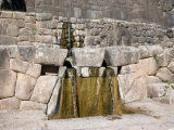 Fountains and Stone Bath, Tambo Machay, Cusco, Peru Photographic Print by Diane Johnson
