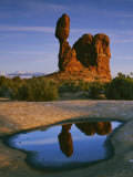 Balanced Rock, Arches National Park, Utah, USA Photographic Print by Charles Gurche