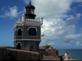 El Morro Fortress, Old San Juan, Puerto Rico Photographic Print by David Herbig