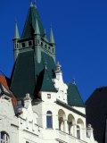 Castle, Prague, Czech Republic Photographic Print by David Herbig