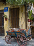Old Wagon Cart, Chania, Crete, Greece Photographic Print by Darrell Gulin