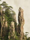 Peaks and Valleys of Grand Canyon in West Sea, Mt. Huang Shan, China Photographic Print by Adam Jones