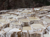 Salt Ponds, Maras, Peru Photographic Print by Diane Johnson