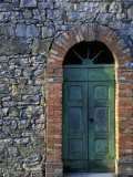 Village Door, Cinque Terre, Italy Photographic Print by Marilyn Parver