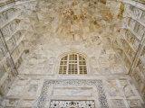 Architectural details, Taj Mahal, Agra, India Photographic Print by Adam Jones