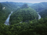 Canyon of the Russel Fork, River Breaks Interstate State Park, Virginia, USA Photographic Print by Charles Gurche