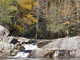 Upper Linville Falls at the Blue Ridge Parkway, North Carolina, USA Photographic Print by Chuck Haney