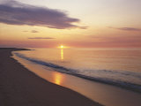Sunrise over Atlantic, Cape Cod National Seashore, Massachusetts, USA Photographic Print by Charles Gurche
