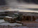 Mammoth Hot Springs, Yellowstone National Park, Wyoming, USA Photographic Print by Rolf Nussbaumer