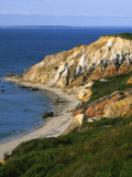 Aquinnah (Gay Head) Cliffs, Martha's Vineyard, Massachusetts, USA Photographic Print by Charles Gurche