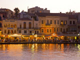 The Old Harbor, Chania, Crete, Greece Photographic Print by Darrell Gulin