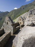 Stonework in the Lost Inca City of Machu Picchu, Peru Photographic Print by Diane Johnson