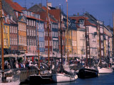 Waterfront, Copenhagen, Denmark Photographic Print by David Herbig