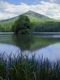 Peaks of Otter, Abbott Lake, Blue Ridge Parkway, Virginia, USA Photographic Print by Charles Gurche