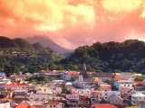 Roseau, Dominica, Caribbean Photographic Print by Alan Klehr