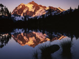 Mt. Shuskan in North Cascades National Park from Picture Lake, Washington Photographic Print by Charles Gurche