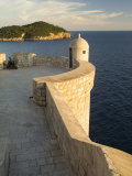 Old city walls built 10th century, Dubrovnik, Dalmatia, Croatia Photographic Print by John & Lisa Merrill