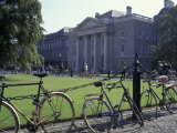 Trinity College and bicycles, Dublin, Ireland Photographic Print by Alan Klehr