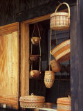 Caribbean Baskets, Roseau, Dominica Photographic Print by David Herbig