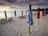 Umbrellas, Ko Phi Phi, Thailand Photographic Print by Gavriel Jecan