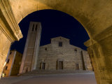 Cathedral, Piazza Grande, Montepulciano, Val D'Orcia, Siena Province, Tuscany, Italy Photographic Print by Sergio Pitamitz