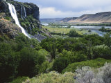 Thousand Springs, Snake River, Idaho, USA Photographic Print by Charles Gurche