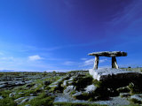 The Burren, Poulnabrone Dolmen, County Clare, Ireland Photographic Print by Marilyn Parver