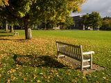 The Dartmouth College Green in Hanover, New Hampshire, USA Fotodruck von Jerry & Marcy Monkman