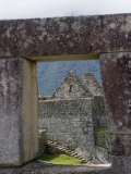 Stonework in the Lost Inca City, Machu Picchu, Peru Photographic Print by Diane Johnson