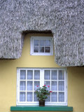Thatched Cottage, Adair County Limerick, Ireland Photographic Print by Marilyn Parver