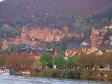 Neckar River, Heidelberg, Germany Photographic Print by David Herbig