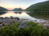The Bubbles and Jordan Pond in Acadia National Park, Maine, USA Photographic Print by Jerry & Marcy Monkman