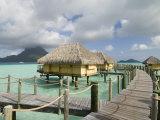 Pearl Beach Resort, Bora-Bora, French Polynesia Photographic Print by Sergio Pitamitz