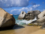 Beach Side at Virgin Gorda, British Virgin Islands, Caribbean Photographic Print by Joe Restuccia III