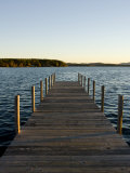 View of Lake Winnipesauke, Wolfeboro, New Hampshire, USA Photographic Print by Jerry & Marcy Monkman