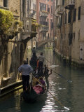 Three Gondoliers, Venice, Italy Photographic Print by Wendy Kaveney