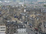 New Town from Edinburgh Castle, Scotland Photographic Print by Cindy Miller Hopkins