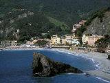 Coastline, Monterossa, Vernazza, Cinque Terre, Italy Photographic Print by Marilyn Parver