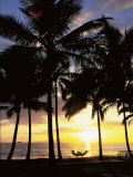 Sunset, Wailea, Maui, Hawaii, USA Photographic Print by Douglas Peebles