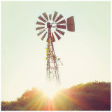 Nostalgic Windmill Art by Mandy Lynne